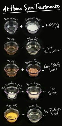 Home Remedies for spa treatment(:
