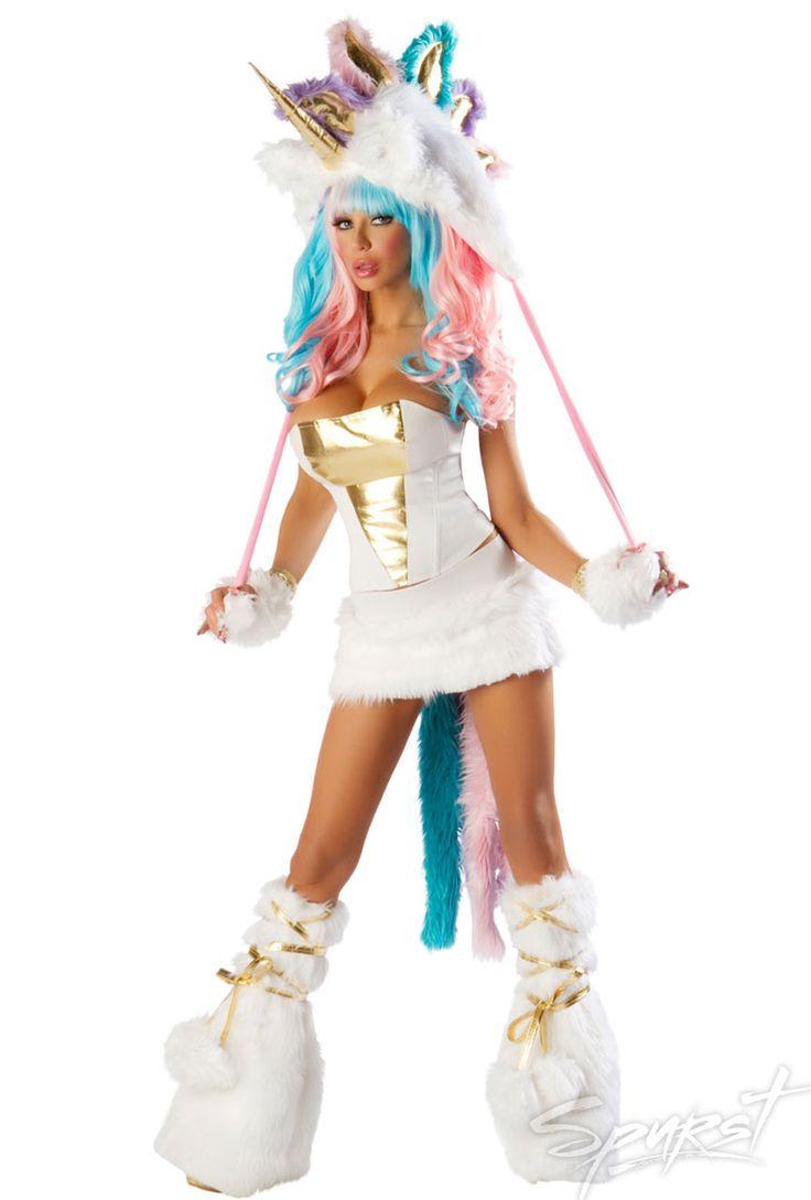 Womens Unicorn Halloween Costume