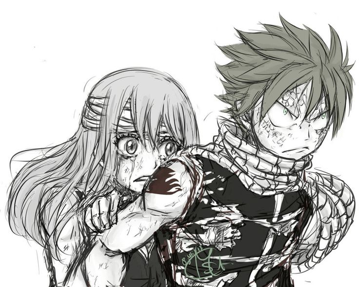 Nalu Week   Don  39 t you dare touch her  by Chengggg on deviantART