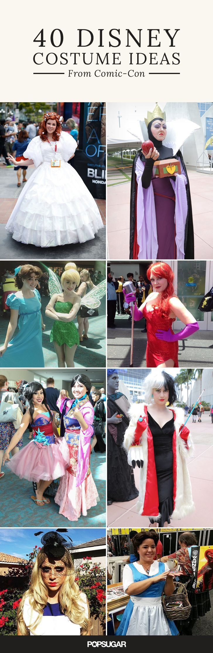 No doubt it's exciting to see all the celebrities who come to Comic-Con, but this year the costumes are what truly excited us. We found all the best Disney cosplay from 2015's big event for the biggest Disney fans out there. Check out what totally impressed us, and start planning your Halloween costume early!