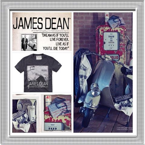 Tribute to James Dean #fredmello #jamesdean #fredmello1982 #newyork #springsummer2013 #accessible luxury #cool #usa