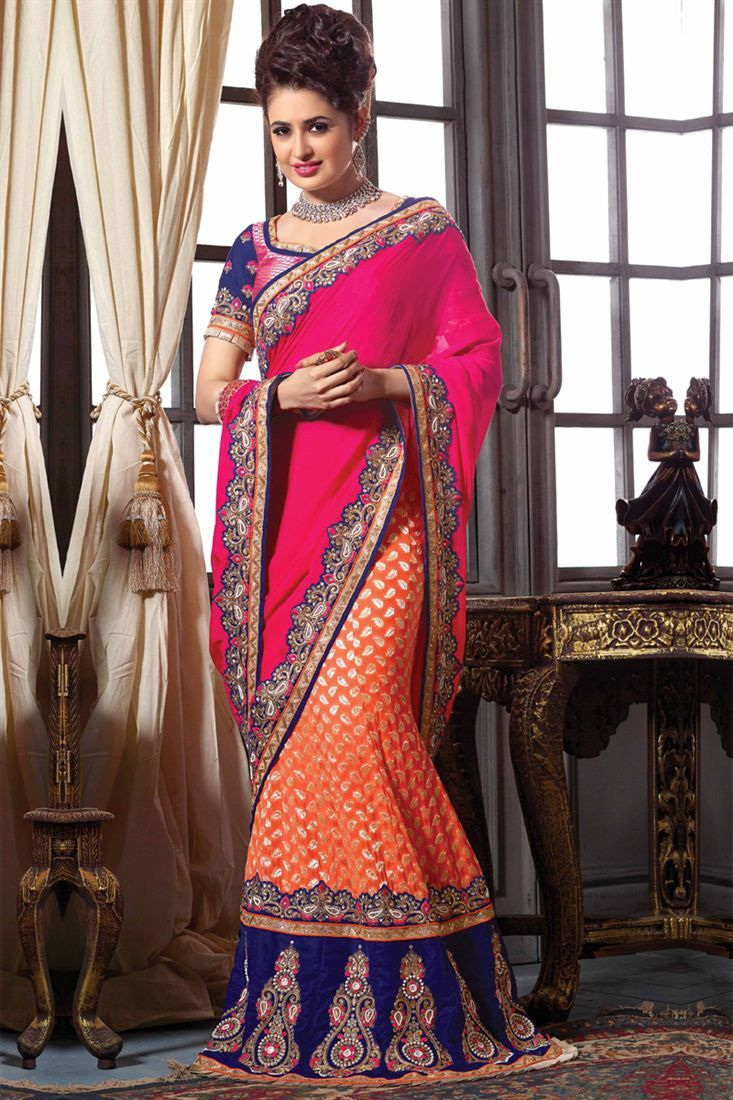 Alluring Chiffon And Jacquard Party Wear Lehenga S