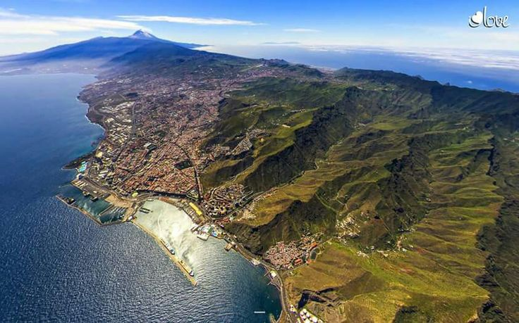 Santa Cruz de Tenerife a 4000 metros...