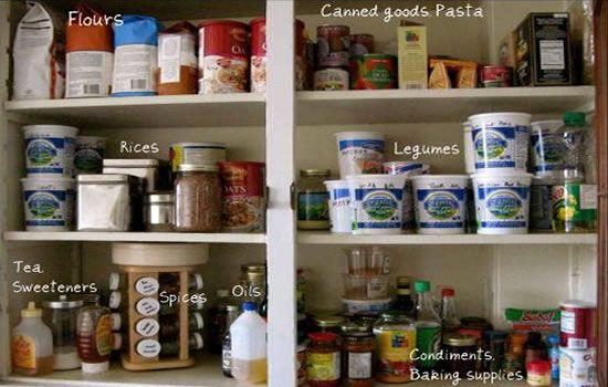 Kitchen cupboard essentials!