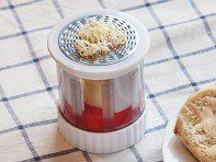 This butter mill, discovered by The Grommet, turns cold butter into a soft spread. Simply twist it and the butter is grated into super fine strands.