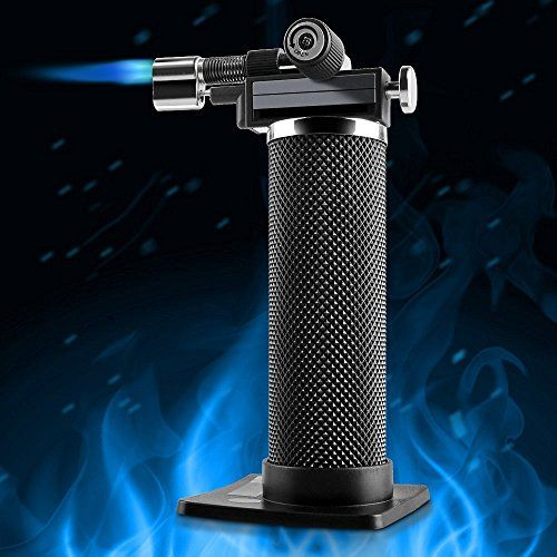Concise Home Kitchen Culinary Micro Butane Torch for Soldering Plumbing Jewelry Culinary Camping Welding Flamethrower BBQ Outdoor Windproof Professional SelfIgniting >>> Find out more about the great product at the image link.(This is an Amazon affiliate link)