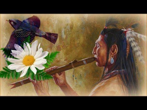 1 Час - Флейта североамериканских индейцев и звуки леса / Relaxing Native Flute & Birds Singing - YouTube