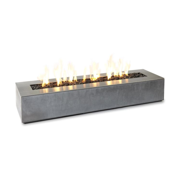 retangular gas fire pit  | ... rectangular-concrete-outdoor-fire-pit-adorable-outdoor-fire-pit-table