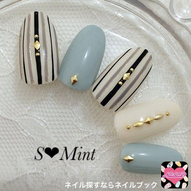 those colours♡ nail