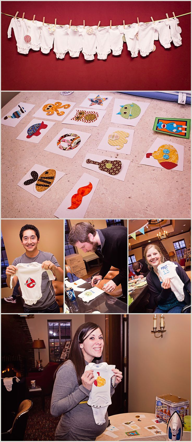 Baby Shower Activities That Aren T Lame ~ Do it yourself onesie party baby shower ideas cool