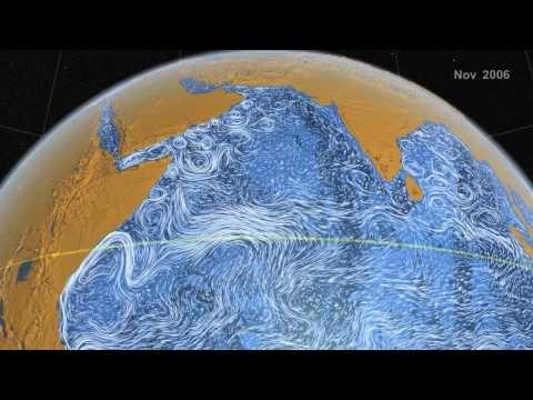 Mar perpetuo (NASA - Perpetual Ocean) - If Van Gogh Painted Oceans -VIDEO