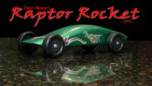 pinewood derby photo raptor car picture
