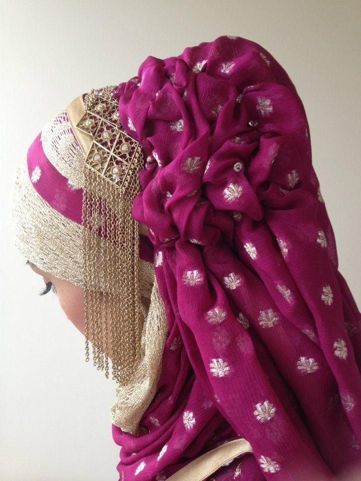 Hijab with amazing details