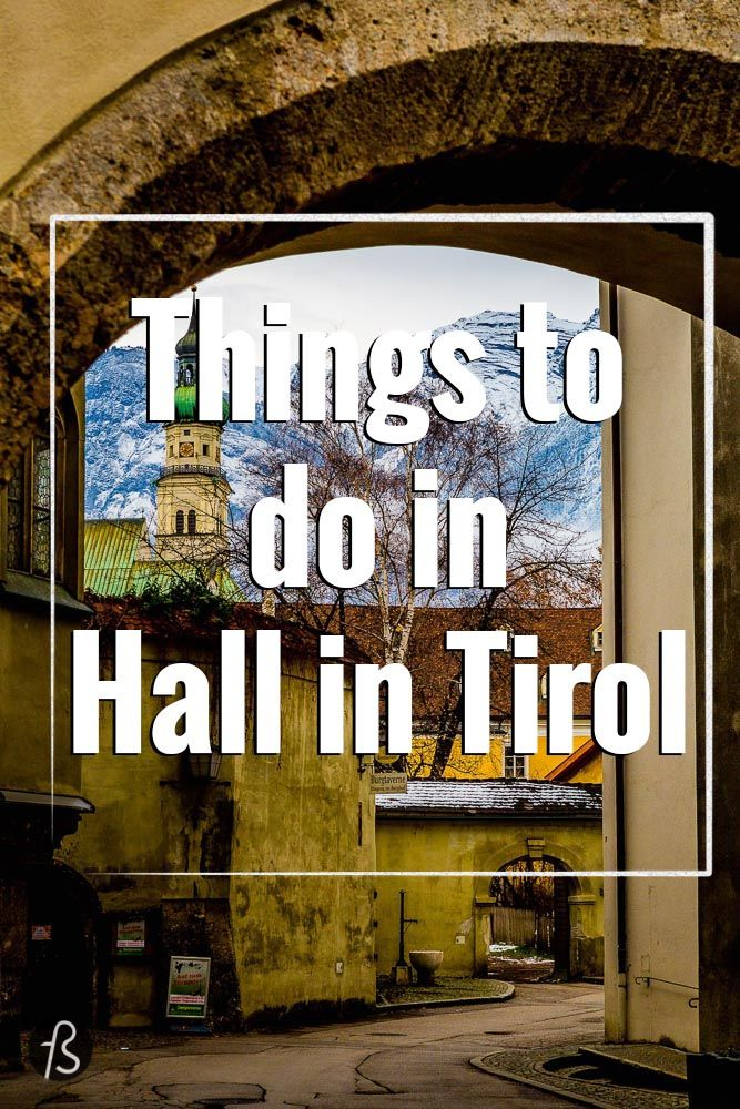 Hall in Tirol is a 700 year old town located 10km to the east of Innsbruck. In the past, around the Middle Ages, Hall in Tirol was more important than today's state capital, Innsbruck.