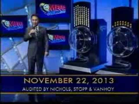 #MegaMillions Winning Numbers Results #November22th 2013 Watch