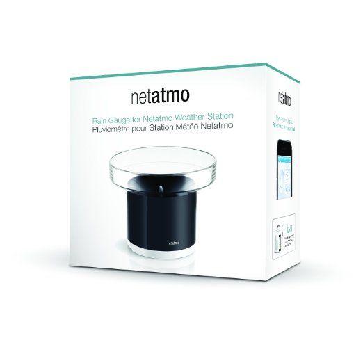Netatmo Pluviomètre pour Station Météo pour Smartphone