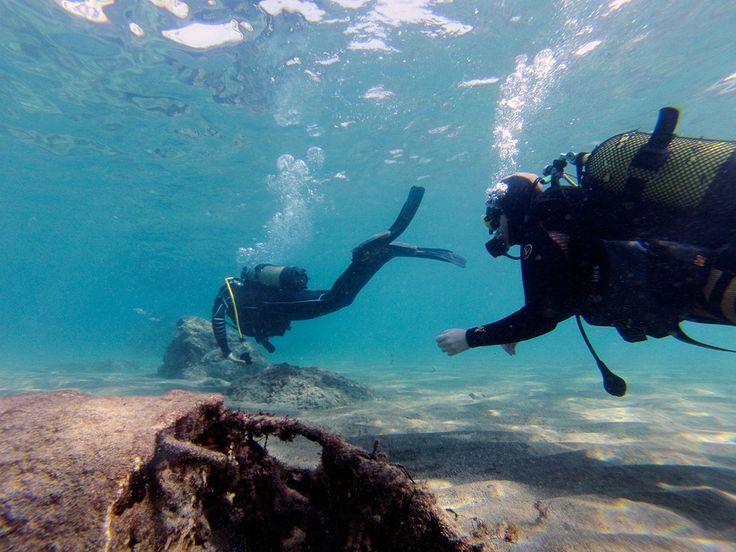 #Lanzarote on oiva paikka tutustua vedenalaiseen maailmaan sukelluskokeilulla. Lue postaus aiheesta Elämäni Kunnossa-blogista. #aurinkoblogi #diving #scuba