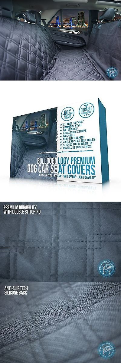 Car Seat Covers 117426: Bulldogology Premium Dog Car Seat Covers X-Large (60X64 ) -> BUY IT NOW ONLY: $89.66 on eBay!