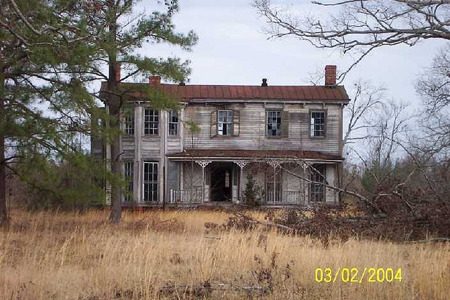 Old house, Dendron, VA.