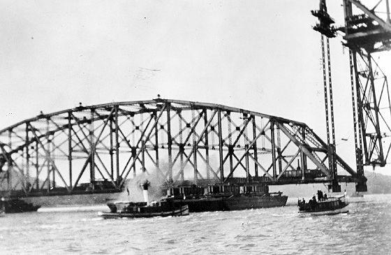Ville de Québec - Pont de Québec 1916