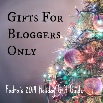 Gifts for Bloggers Only from Fadra's 3rd Annual Highly Unusual Holiday Gift Guide :: what blogger wouldn't want these?! so cool