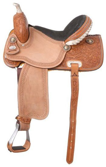 Silver Royal Randall All-Around Barrel Saddle | ChickSaddlery.com