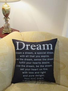 The Dream Cushion - #throw pillows. Cushions and Covers by Chelsea Design NZ.
