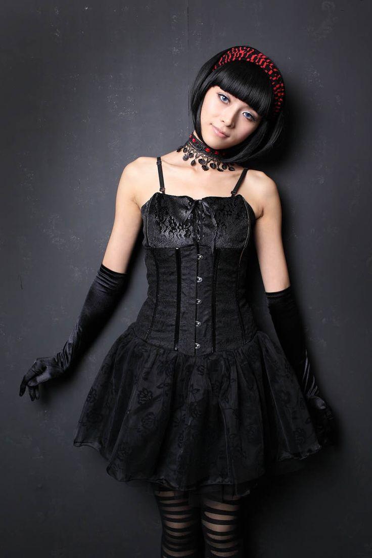 17 besten Gothic Dresses Bilder auf Pinterest | Jeans kleider, Lange ...