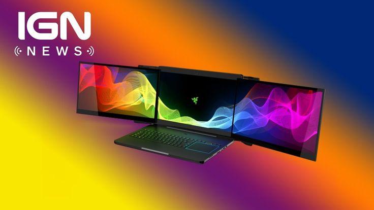 Razer Introduces Insane Triple-Monitor Gaming Laptop - IGN News - http://gamesitereviews.com/razer-introduces-insane-triple-monitor-gaming-laptop-ign-news/