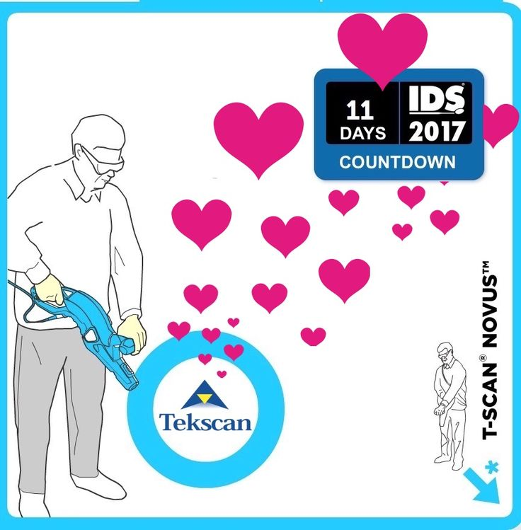 Only 11 days to | T-Scan™ | IDS 2017 | Live experience at Tekscan both M050 hall 4.2.