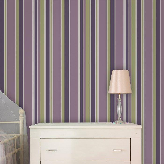 Best 25+ Purple Striped Walls Ideas On Pinterest