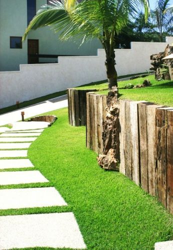 wall made of wood.