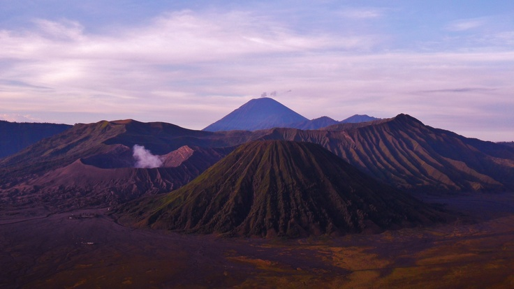 Mount Bromo, Indonesia. When hiking uphill for ages turns out to be not so bad after all...