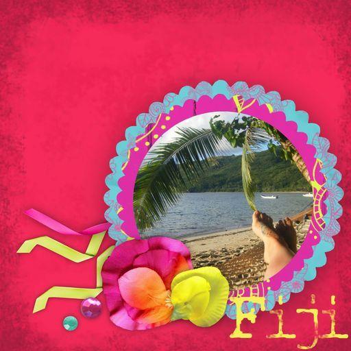 Becks in Fiji!