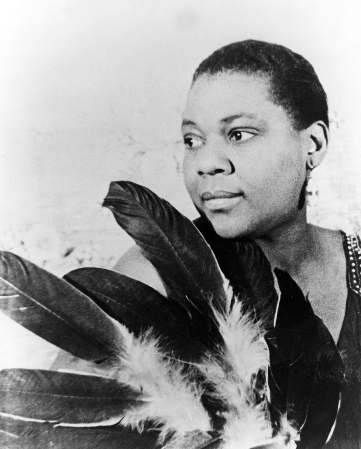 One of my favorite Blues singers, Bessie Smith. While most people think of men when it comes to Blues singers, women were the most successful singers in the early 20th century.