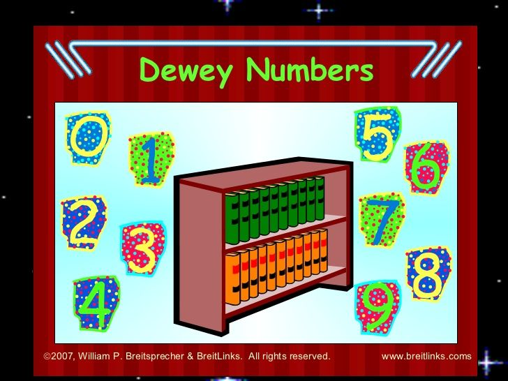 Dewey Decimal system PPT. Well done for students!