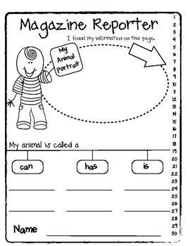 3 Response sheets for your Ranger Rick and National Geographic Kids Magazines!     A great fun way to reinforce reading and writing informational text.    Great addition to your   library and science center. $