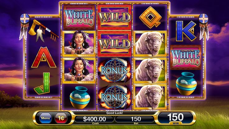 White Buffalo Slot Machine Final Art by patbollin on deviantART Cadillac Jack Games
