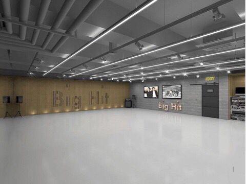 Big Hit Practice Room Dance Rooms Home Look Bts