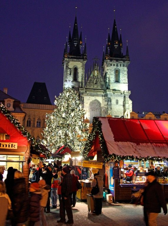 Christmas Markets | Prague, Czech Republic