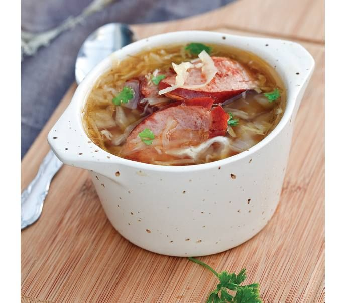 "Double Click Slowly on Pic for Recipe....""Low Carb"" Cabbage and Kielbasa Soup... by George Stella ...visit us at ""Low Carbing Among Friends"" on Facebook"