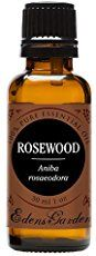 Rosewood Essential Oil Benefits Include: Depression, Skin Care, Oral Health, Wound Healing, Deoderant, Insect Repellent and Libido Enhancement.
