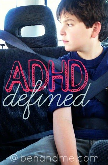 I have one goal in writing about this topic -- helping others understand what it is like to be and parent a child with ADHD.