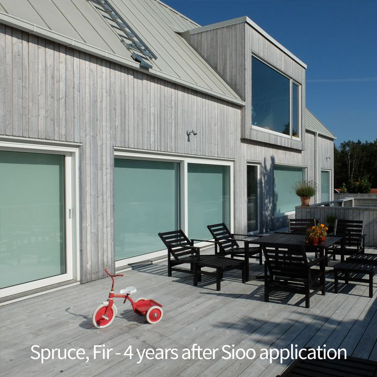 Spruce / Fir - picture taken 4 years after Sioo was applied
