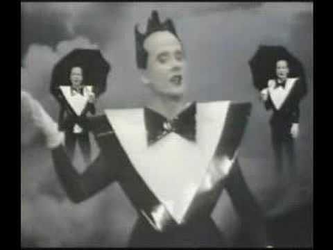 """Lightning Strikes"" by Klaus Nomi    I like this better than the Lou Christie version."