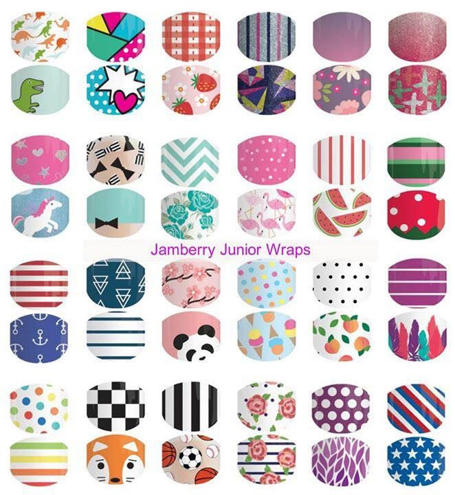 Jamberry Juniors - September 2016 catalogue.