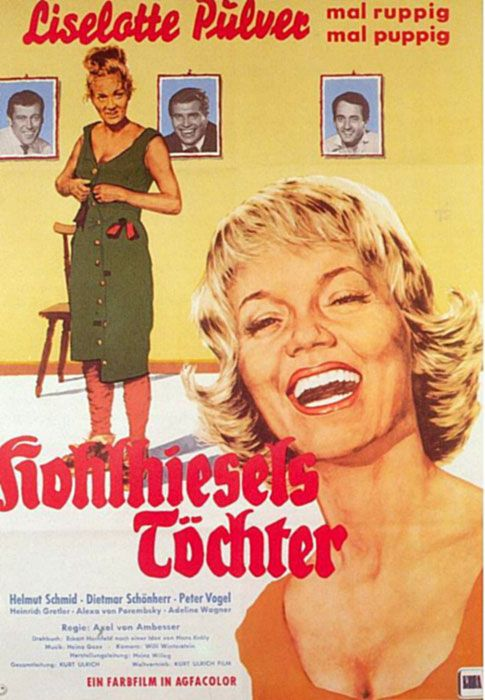 Poster zum Film: Kohlhiesels Töchter. 1962