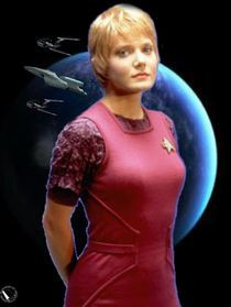 Star Trek Voyager - Kes (Jennifer Lien).
