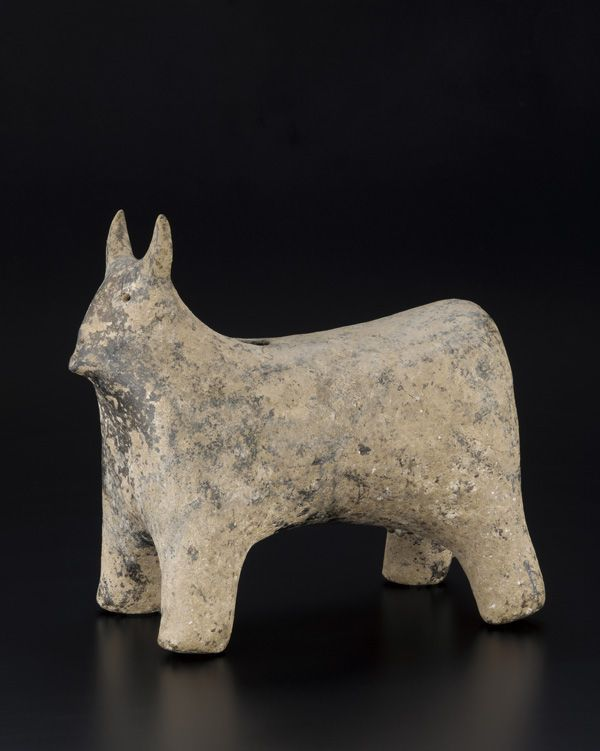 Ancient Near Eastern Art | Figure of horned animal | S1998.183