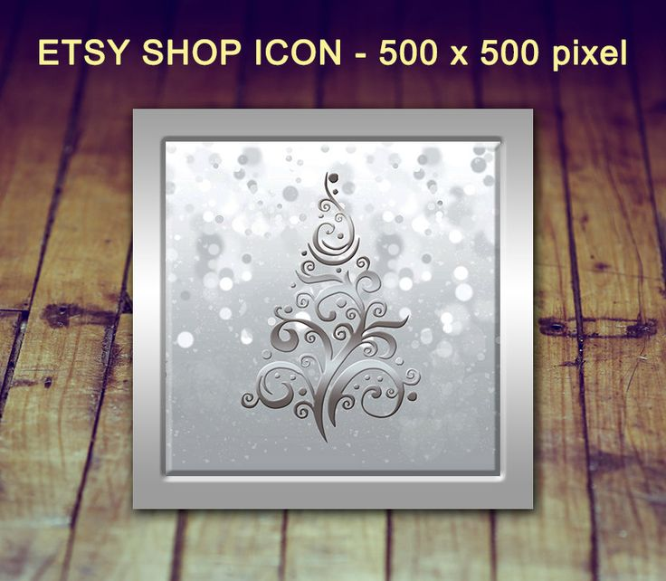 Etsy Shop Icon - Christmas Shop Icon, Holiday Shop Icon, Etsy Christmas Icon, Etsy Shop Photo, Etsy Store Icon, Etsy Graphics, Holiday Icon by LittlePrintsOttawa on Etsy